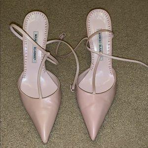 Manolo Blahnik Pink heel